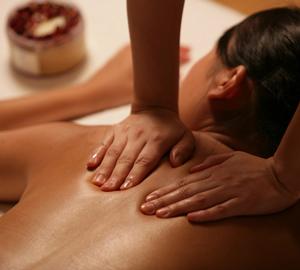 Растирание - прием массажа