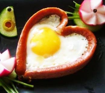 Сердце в яйцах