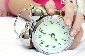 Лучшее время для сна