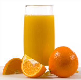 Свежевыжатый апельсиновый сок энергетик