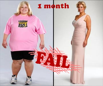как быстро похудеть самому