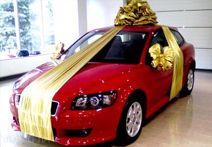 Машина с бонтом в подарок