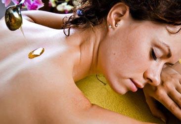 Медовый массаж дома
