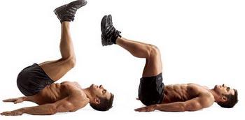 Упражнение обратное скручивание