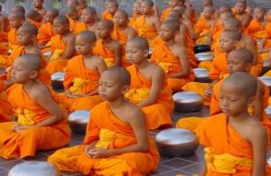 медитирующие дети