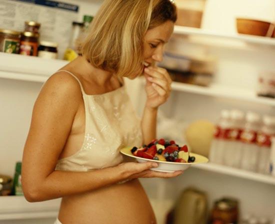 Рацион беременных в первый триместр