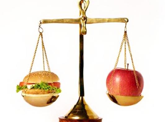 весы яблоко
