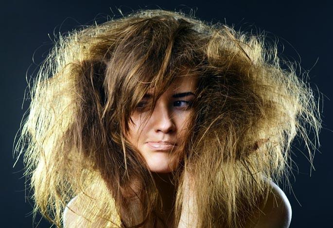 Лечение ломких сухих волос