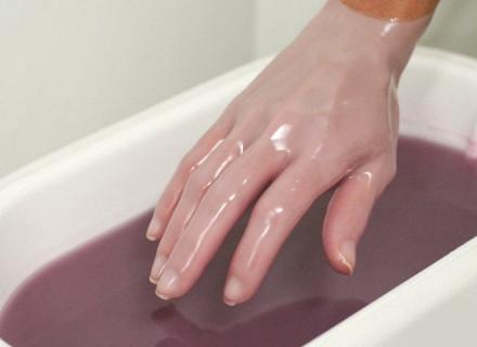 процедура парафинотерапии рук