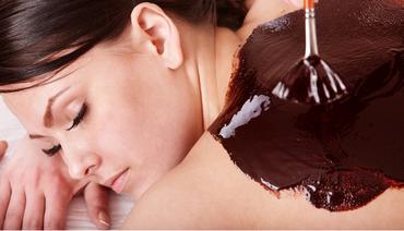 Как сделать шоколадную маску для тела