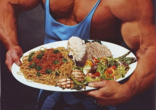 Диета для набора веса у мужчин