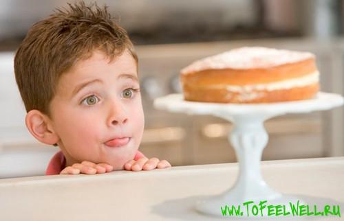 Аллергия на сладости