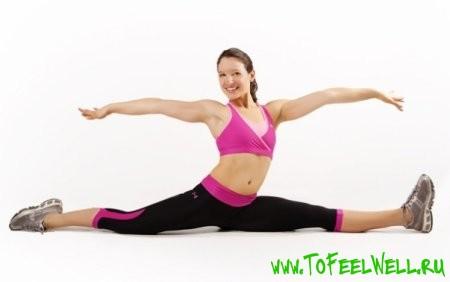 Упражнения для растяжки на шпагат
