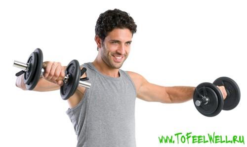 Упражнения для грудных мышц для мужчин