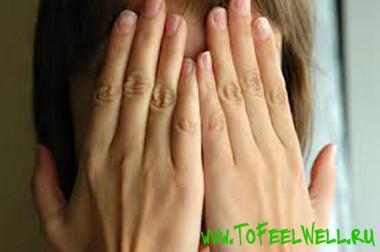 Симптомы рака кожи лица