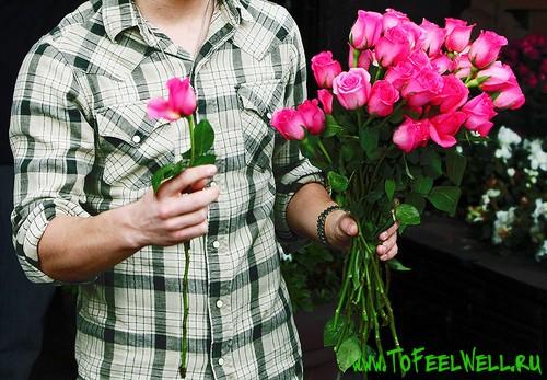 Самые красивые цветы для девушки