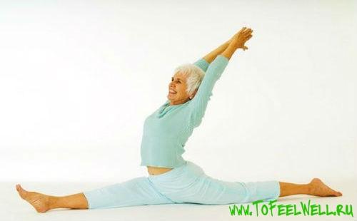 Йога для женщин после 50 лет